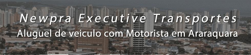 Transportes Executivo em Araraquara