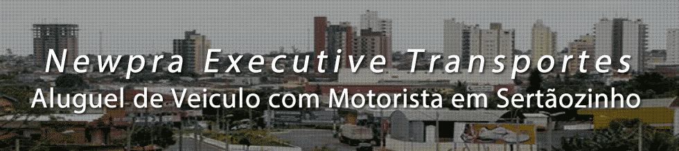 Transporte Executivo em Sertãozinho